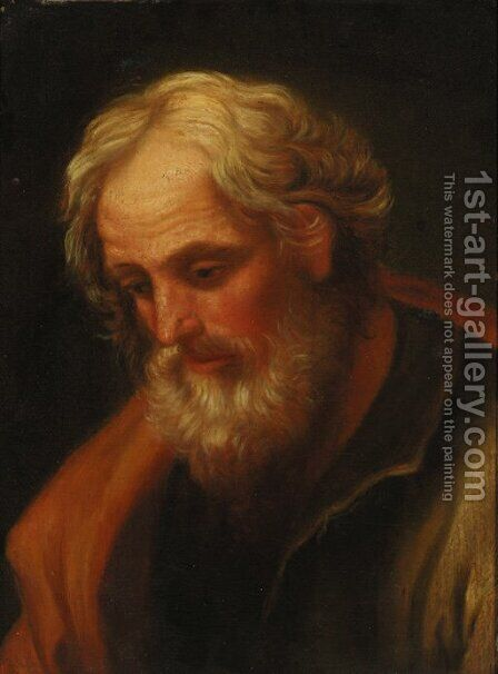 Saint Joseph by (after) Guido Reni - Reproduction Oil Painting