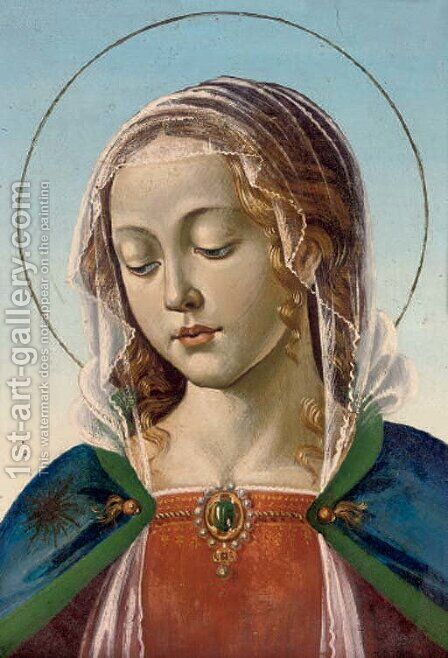 The Madonna by (after) Luca Signorelli - Reproduction Oil Painting