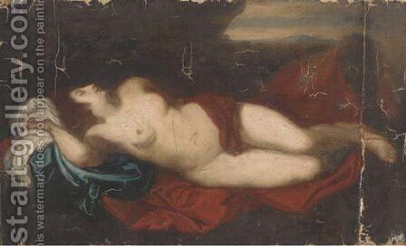 Venus by (after) Dyck, Sir Anthony van - Reproduction Oil Painting