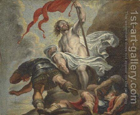 The Resurrection by (after) Sir Peter Paul Rubens - Reproduction Oil Painting