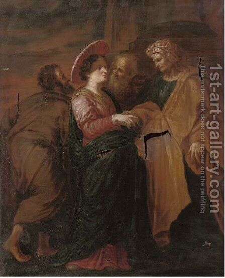 The Visitation by (after) Sir Peter Paul Rubens - Reproduction Oil Painting