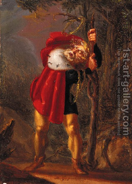 King Lear by (after) William Blake - Reproduction Oil Painting