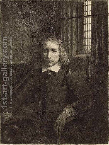 Jacob Haaringh ('Young Haaringh') 2 by Rembrandt - Reproduction Oil Painting