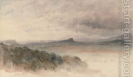 Stirling from Keir, Craigforth by Harriet Cheney - Reproduction Oil Painting