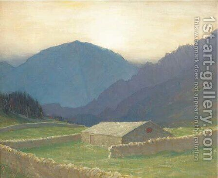 Harter Fell by Charles Holmes - Reproduction Oil Painting