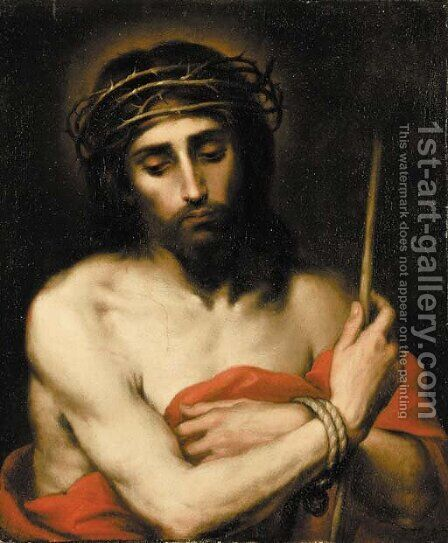 Ecce Homo 2 by (after) Murillo, Bartolome Esteban - Reproduction Oil Painting