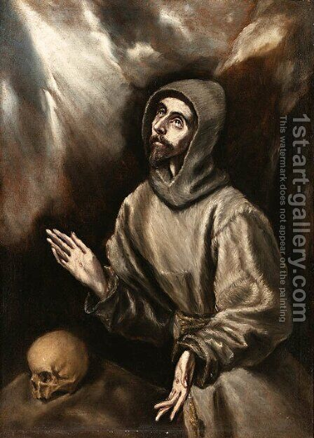 El Greco by (after) El Greco, Domenico - Reproduction Oil Painting
