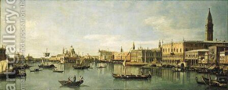 The Bacino di San Marco, Venice by (after) (Giovanni Antonio Canal) Canaletto - Reproduction Oil Painting
