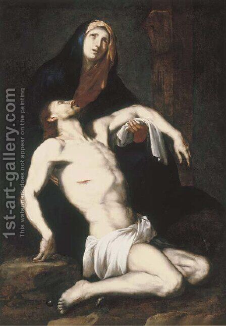 The Lamentation by (after) Jusepe De Ribera - Reproduction Oil Painting