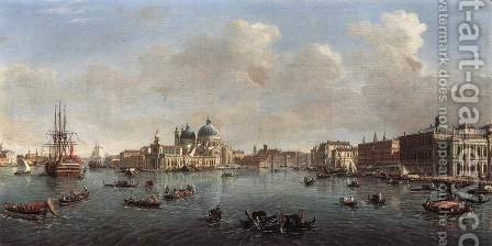 Bacino di San Marco 1710 by Caspar Andriaans Van Wittel - Reproduction Oil Painting