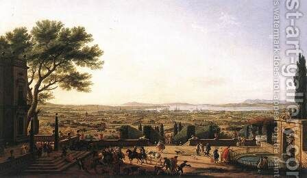 The Town and Harbour of Toulon 1756 by Claude-joseph Vernet - Reproduction Oil Painting