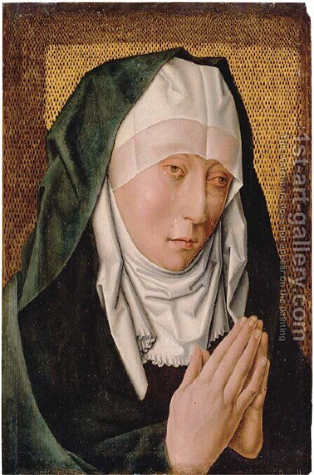 The Mater Dolorosa by (after) Dieric The Elder Bouts - Reproduction Oil Painting