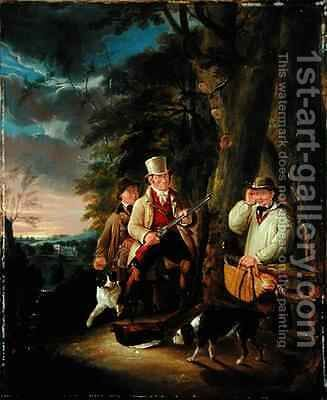 The Poacher's Snare by Charles Buttery - Reproduction Oil Painting