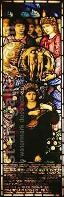 The Sixth Day of Creation by (after) Sir Edward Coley Burne-Jones - Reproduction Oil Painting