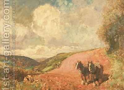 The Red Soil of Devon by E. and Freyburg, F.P. Bucknall - Reproduction Oil Painting