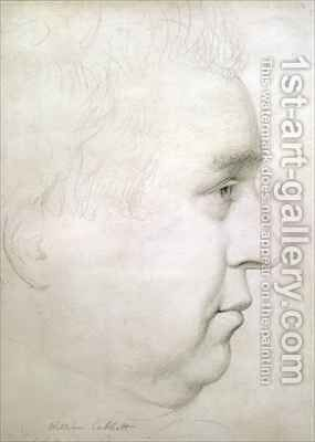 Portrait of William Cobbett 1763-1835 by Adam Buck - Reproduction Oil Painting