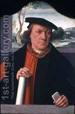 Counsellor Arnold Von Brauweiler by Bartholomaeus, the Elder Bruyn - Reproduction Oil Painting