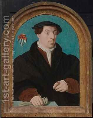 Johann von Aich (1510-49) by Bartholomaeus, the Elder Bruyn - Reproduction Oil Painting