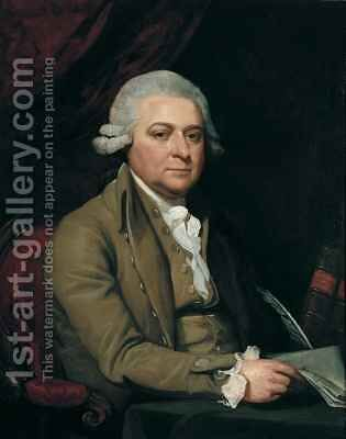 John Adams by Mather Brown - Reproduction Oil Painting
