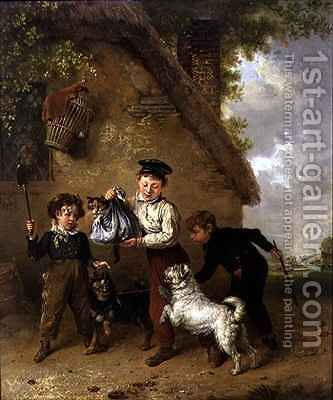Mischief by Edmund Bristow - Reproduction Oil Painting