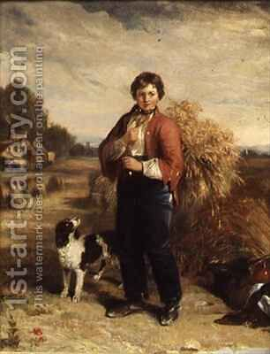 Gleaners Return by Edmund Bristow - Reproduction Oil Painting