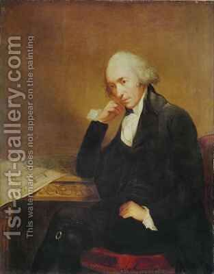 Portrait of James Watt (1736-1819) by Carl Frederick von Breda - Reproduction Oil Painting