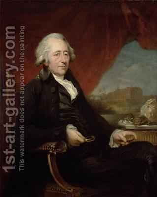 Portrait of Matthew Boulton (1728-1809) by Carl Frederick von Breda - Reproduction Oil Painting
