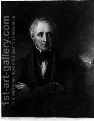 Portrait of William Wordsworth (1770-1850) by (after) Boxall, William - Reproduction Oil Painting