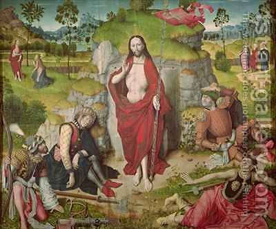 The Resurrection by Aelbrecht Bouts - Reproduction Oil Painting
