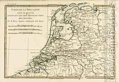 Holland Including the Seven United Provinces of the Low Countries by Charles Marie Rigobert Bonne - Reproduction Oil Painting