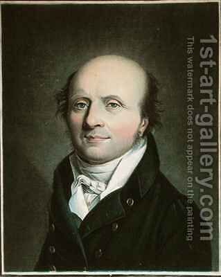 Antoine Dubois (1756-1837) by (after) Louis Leopold Boilly - Reproduction Oil Painting