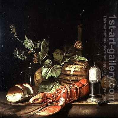 Still life with lobster by (after) Boggi, Giovanni - Reproduction Oil Painting