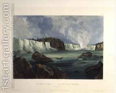 Niagara Falls by (after) Bodmer, Karl - Reproduction Oil Painting