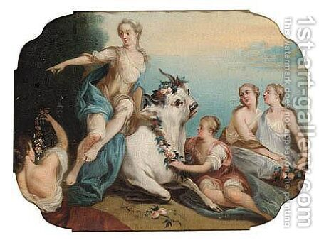 The Rape Of Europa by (after) Jean Francois De Troy - Reproduction Oil Painting