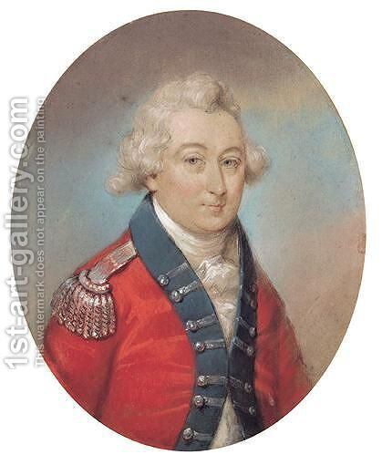 General Dudley Craig by Irish School - Reproduction Oil Painting