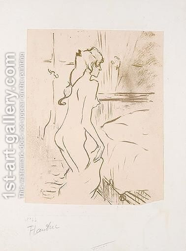 Etude De Femme by Toulouse-Lautrec - Reproduction Oil Painting
