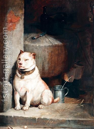 Low Life by (after) Landseer, Sir Edwin - Reproduction Oil Painting