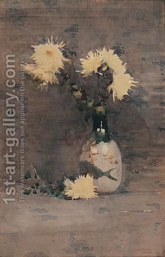 Chrysanthemums by James Paterson - Reproduction Oil Painting