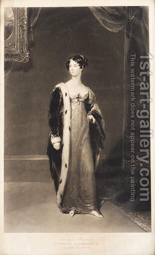 Georgina Elizabeth Duchess Of Newcastle by (after) Lawrence, Sir Thomas - Reproduction Oil Painting