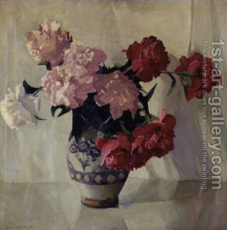 Peonies by Jane Peterson - Reproduction Oil Painting