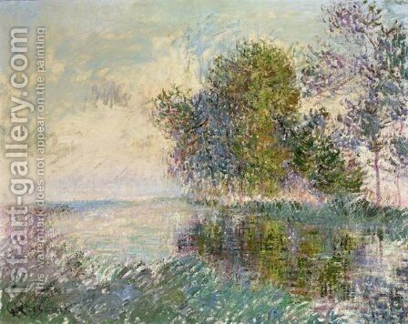 Bords De Riviere, Normandie by Gustave Loiseau - Reproduction Oil Painting