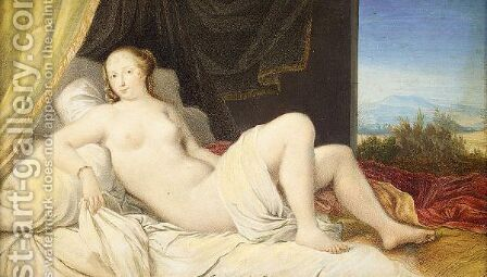Venus, after Titian by (after) Joseph Werner - Reproduction Oil Painting