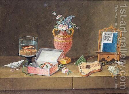Still life by Italian School - Reproduction Oil Painting