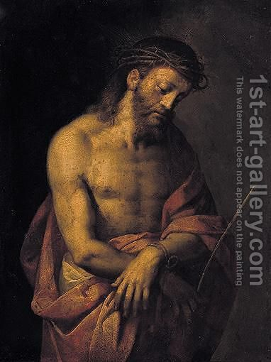 Ecce Homo 2 by (after) Tiziano Vecellio (Titian) - Reproduction Oil Painting
