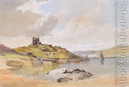 A View Of Skye by Edward Duncan - Reproduction Oil Painting