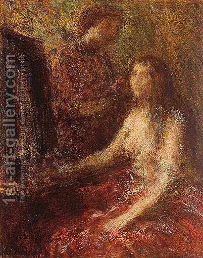 La Toilette 4 by Ignace Henri Jean Fantin-Latour - Reproduction Oil Painting