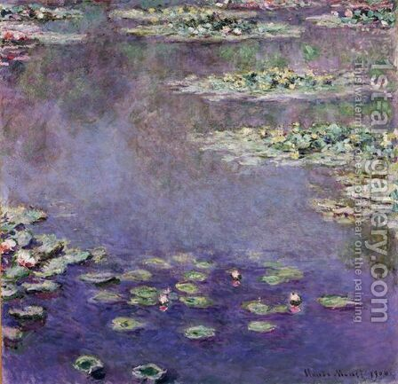Nympheas 3 by Claude Oscar Monet - Reproduction Oil Painting