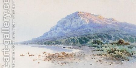 View On Corfu by Angelos Giallina - Reproduction Oil Painting