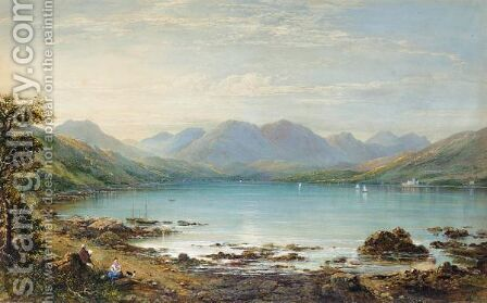 Gareloch by Charles Nicholls Woolnoth - Reproduction Oil Painting