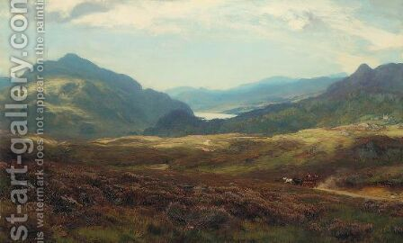 Loch Katrine by David Farquharson - Reproduction Oil Painting
